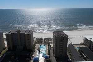 Sit on the balcony and enjoy this view from the 20th floor!!