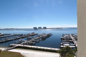 Amazing views from this 5th floor, front facing, four bedroom, corner condo at Perdido Grande