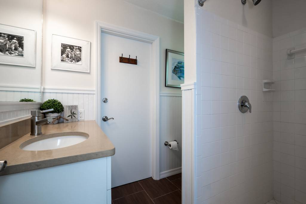 3rd Bathroom with Walk-In Shower.