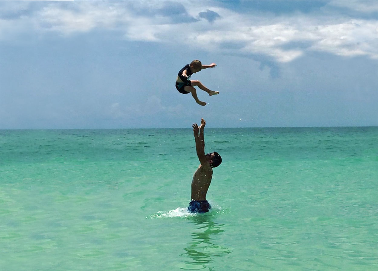 Playful Days in the Aqua Waters