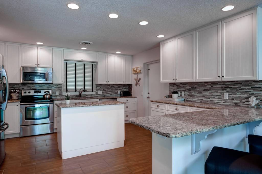 Updated and Fully Equipped Kitchen w/Lots of Counterspace.