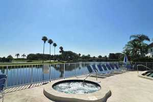Spa Bradenton 3 bedroom monthly vacation rental with pool