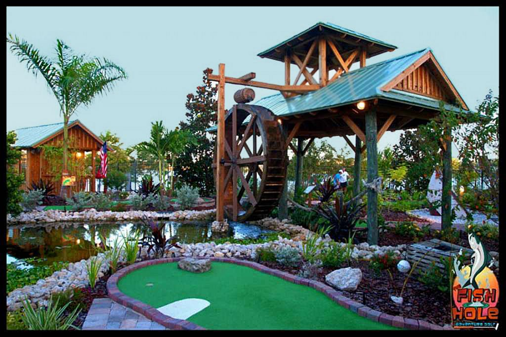 Challenge Each Other with Mini Golf on Bridge Street