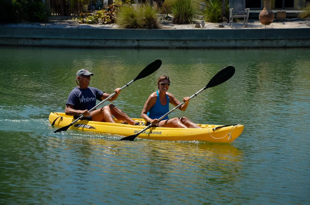 Kayak From Your Dock to the Bay.