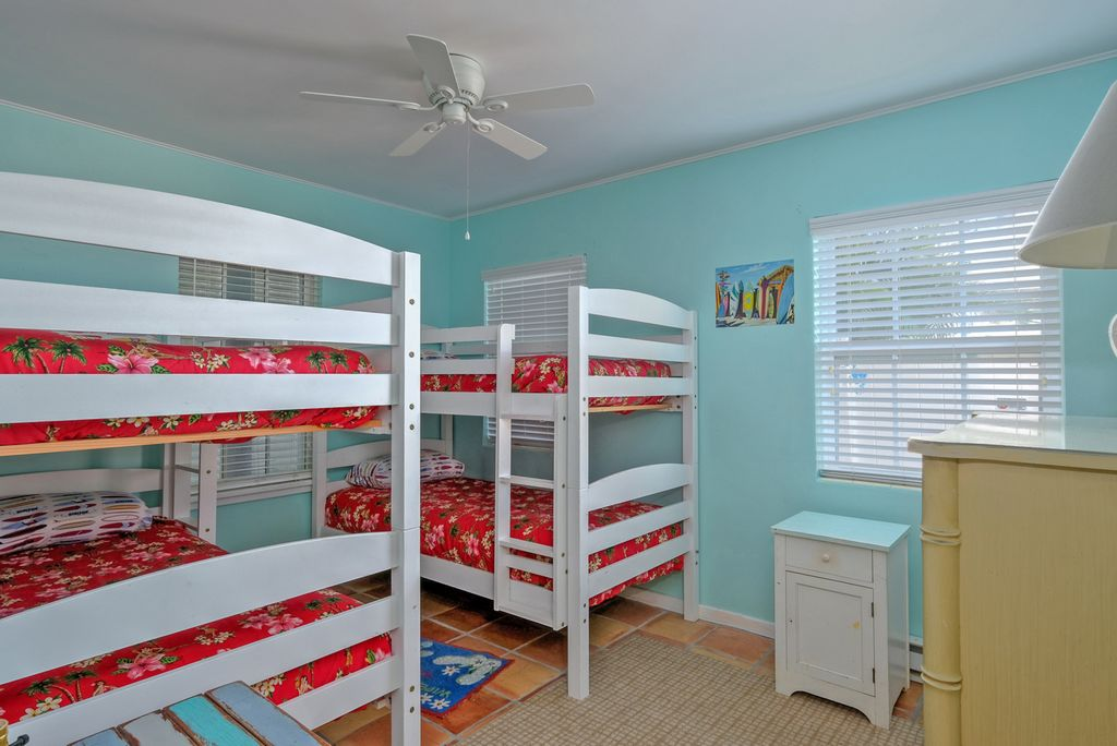 Bedroom with Fun Bunk Beds
