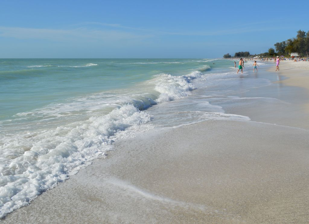 Holmes Beach on Anna Maria Island is Only 2 Blocks.