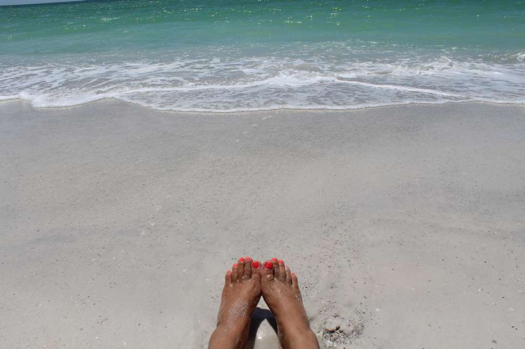 Spend your Days with Toes in the Sand