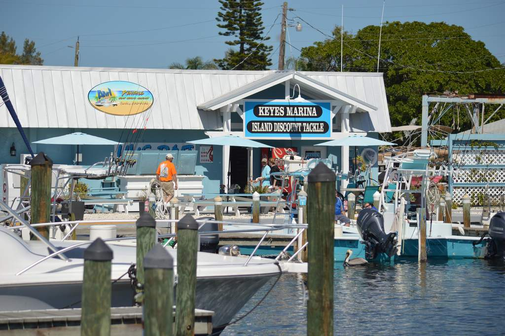Keys Marina offers Water Rentals and Fishing Charters