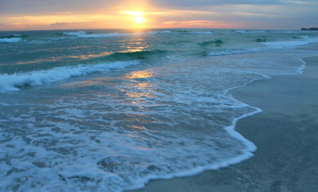 Sunset on One of Anna Maria's Gorgeous Beaches