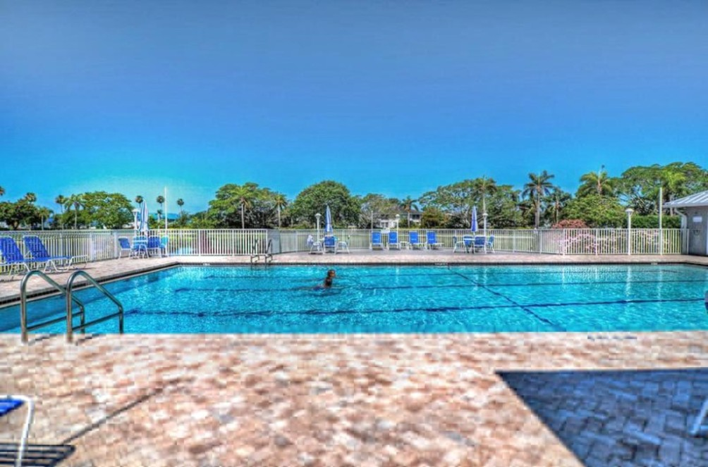 Community Pool at Clubhouse