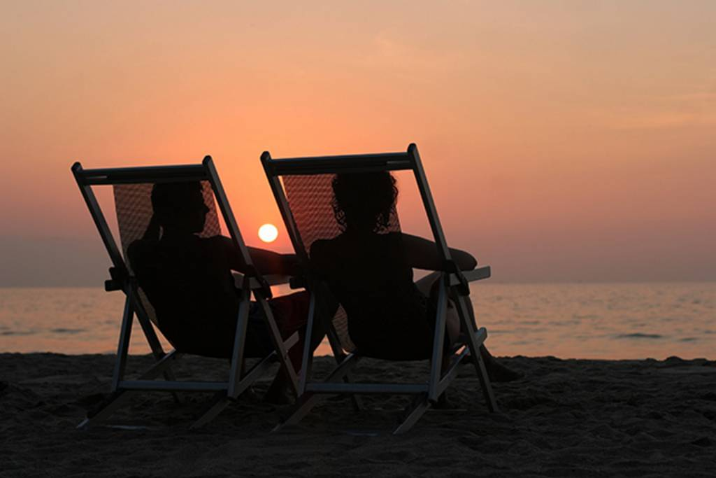Relax to Spectacular Sunsets