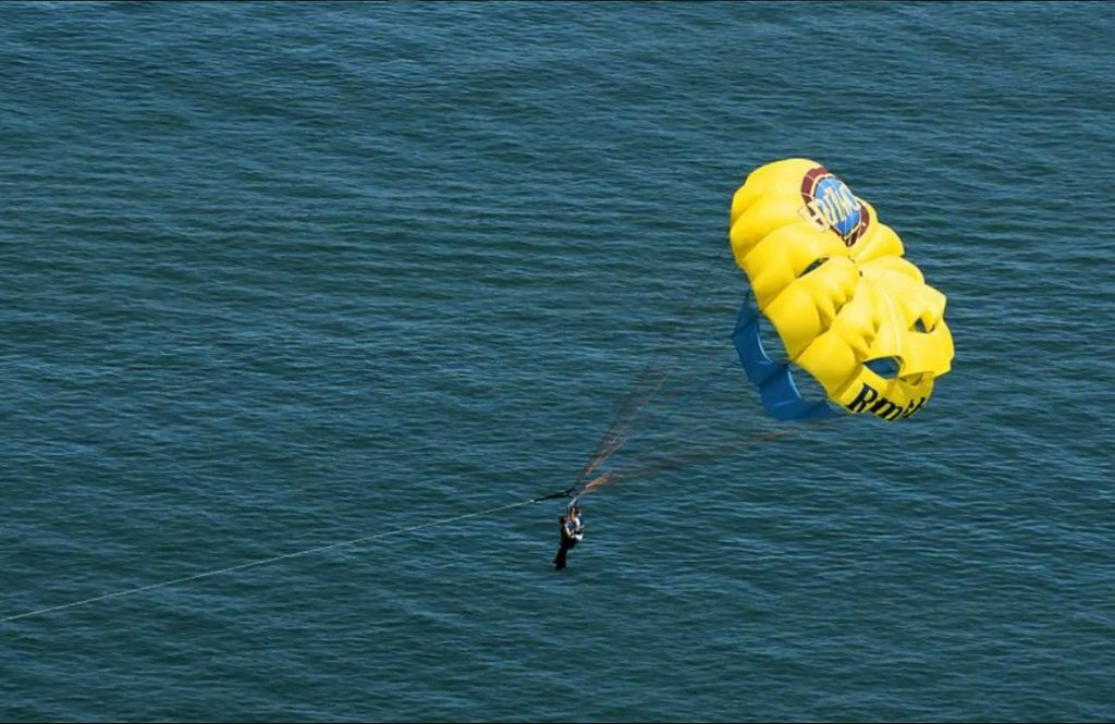 Take In Some Water Adventures like Parasailing