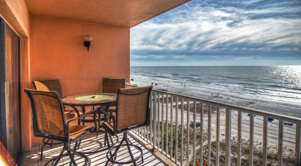 Balcony with DIrect Gulf Front Views