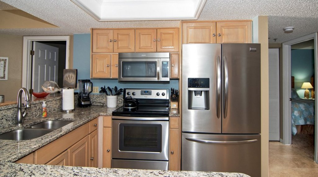 Kitchen with All The Modern Amenities