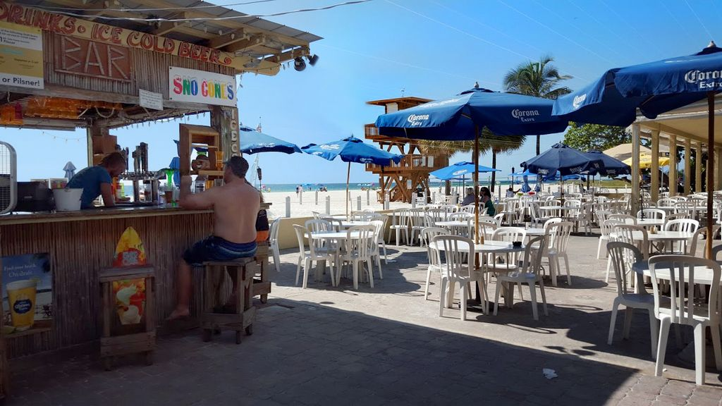 Stroll South on the Beach for Evening TIKI and Live Music