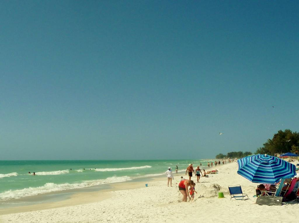 Beautiful Beaches and White Silky Sand