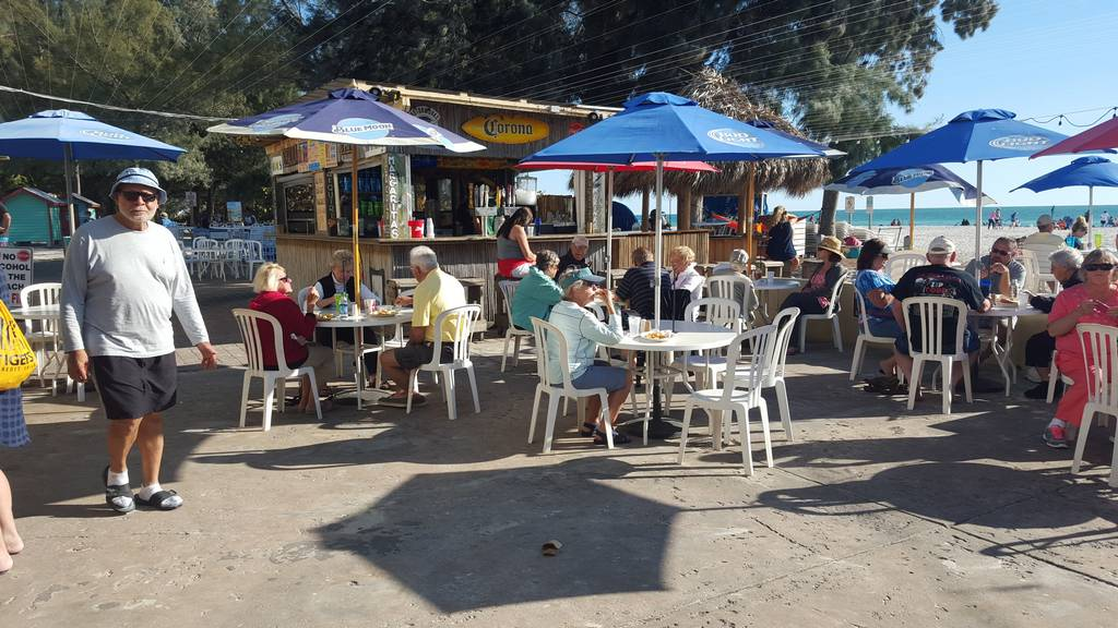 Beach Cafe has Great Food & Daily Entertainment