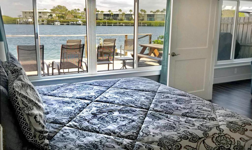 Master Bedroom View of the Water