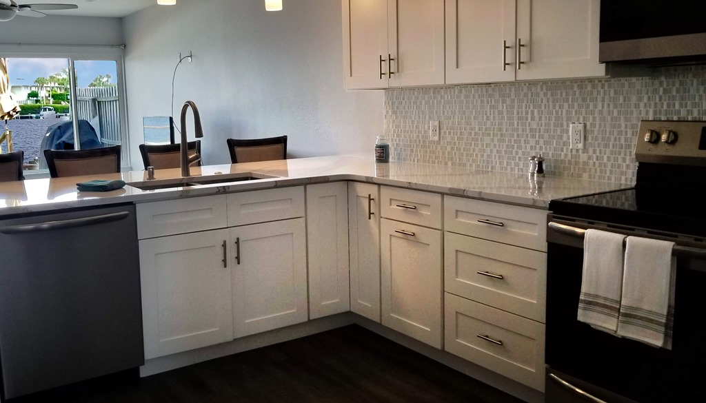 Updated Kitchen with Stainless Steel Appliances