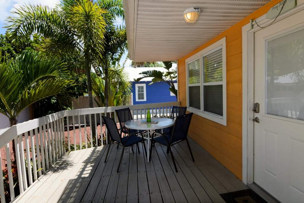 Deck with Eating Area