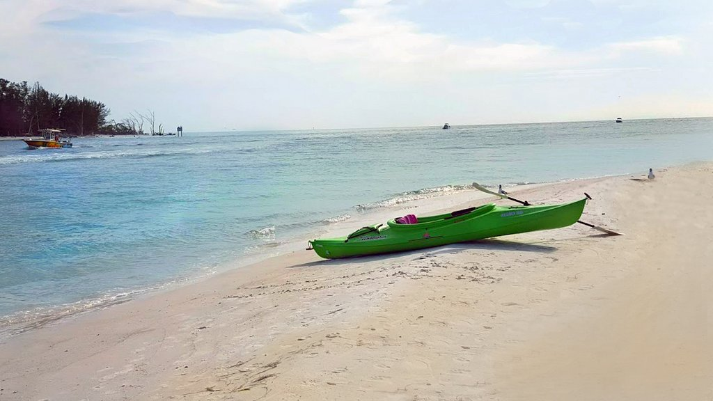 Kayak from the Beach