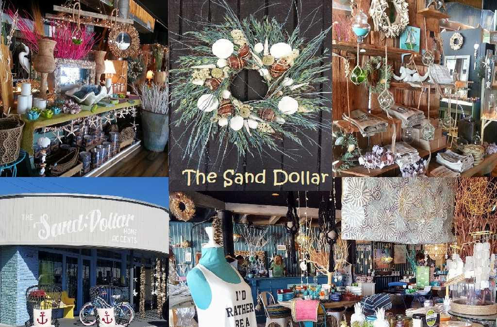Buy Local Shells, Decor and Gifts at the Sand Dollar