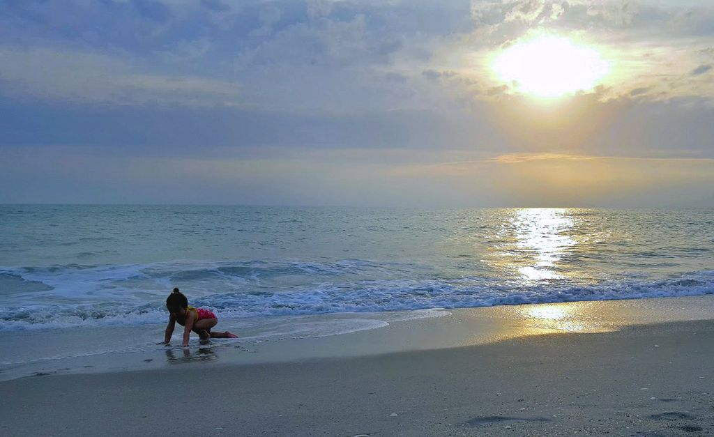 Play in the Surf til the Sun Goes Down