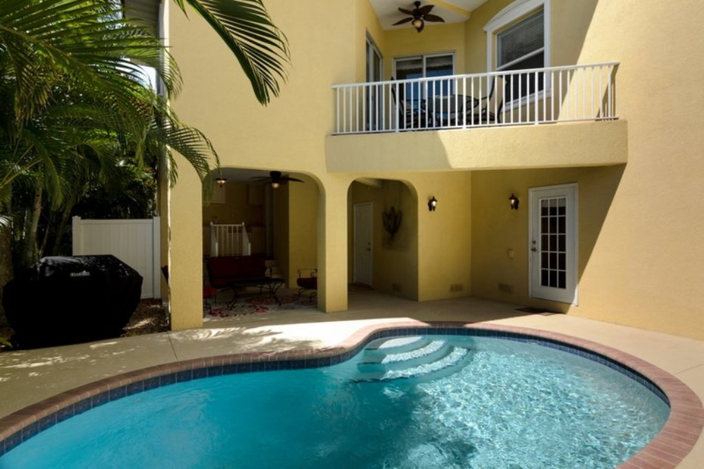 Pool and Patio Area with Gas Grill
