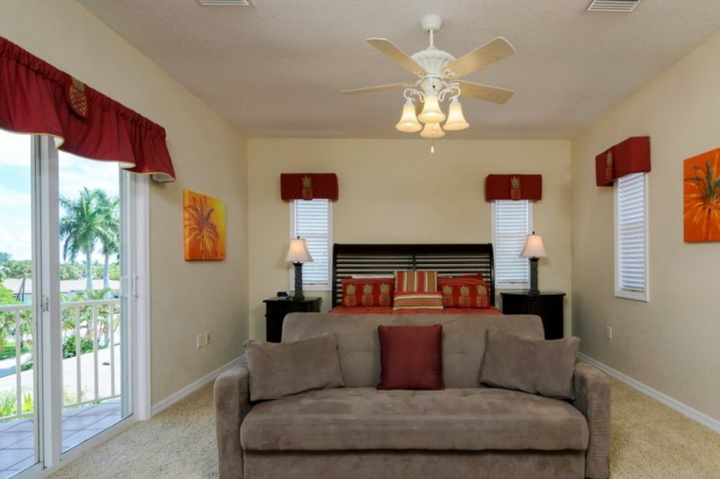 Spacious Master Bedroom Suite with Seating Area