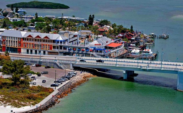 A Short Drive South to John's Pass Activities and Shopping