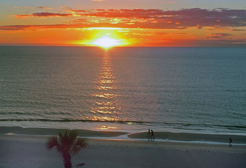 Watch The Sunset From Your Balcony or The Beach