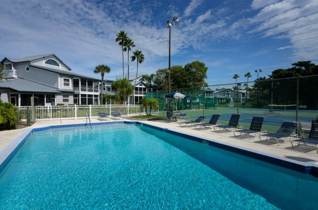 One of Two Heated Community Pools