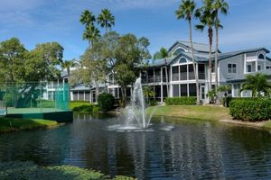 Lovely Fountain and Water View 2 bedroom Siesta Key vacation rental