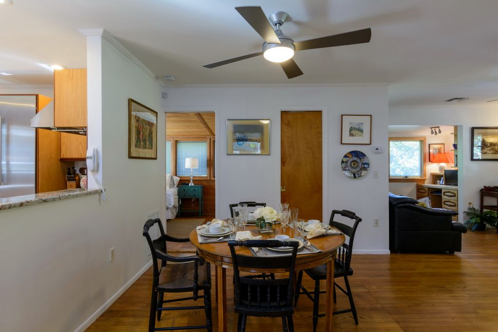 Dining Area with Kitchen Pass-Through.