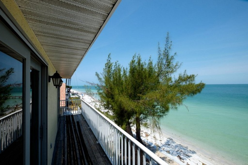 Balcony from Both Guest Bedrooms - Sunrise and Beach View