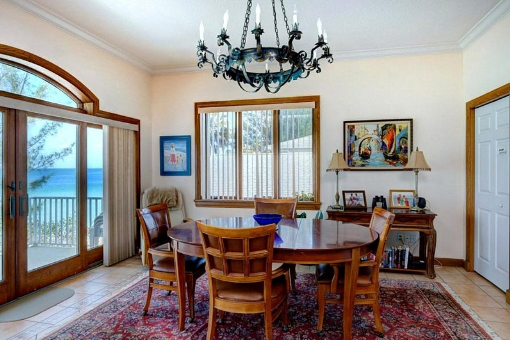 Dining Room with Gulf View