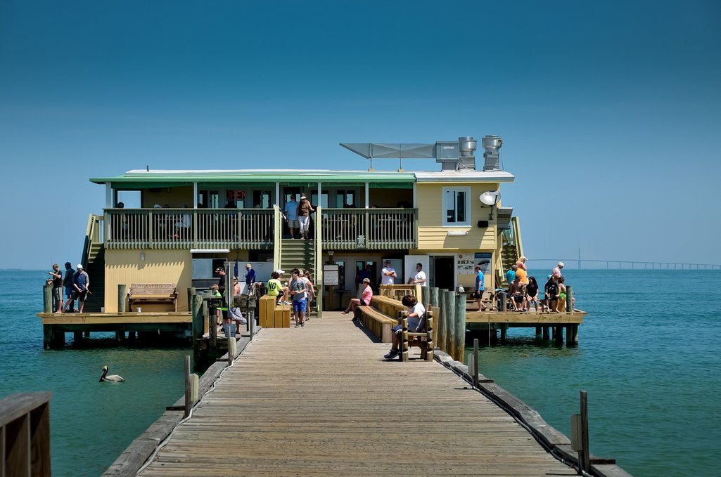 Rod and Reel Pier offers Fantastic Seafood and Fishing