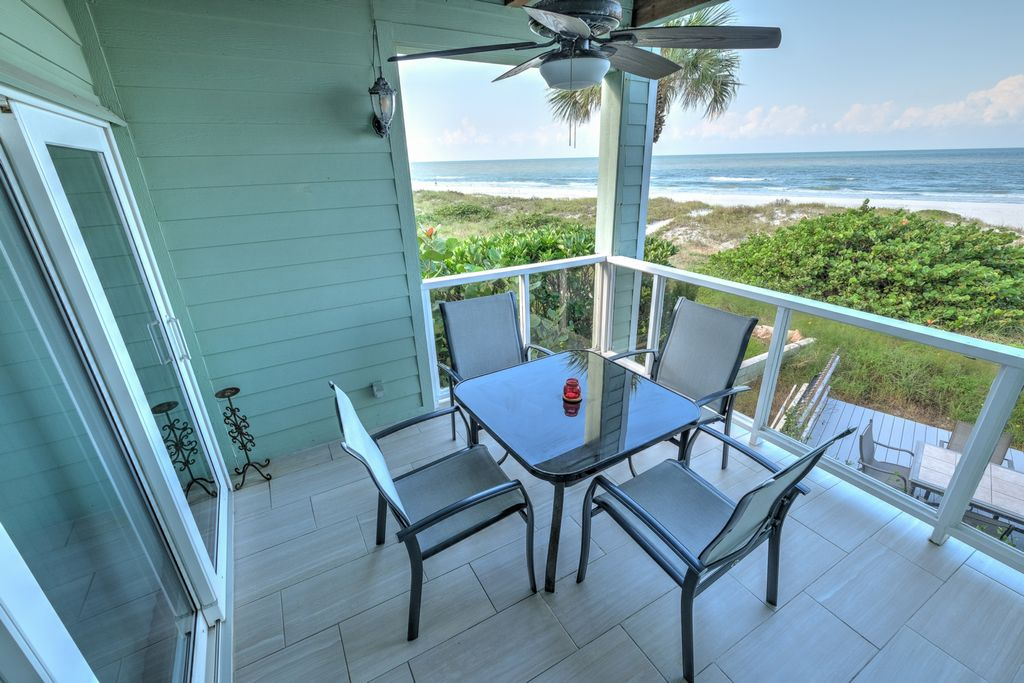 Outdoor Seating with Beautiful Beach View