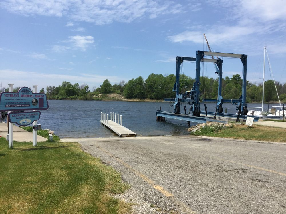 The Boat Launch is Just Around the Corner.