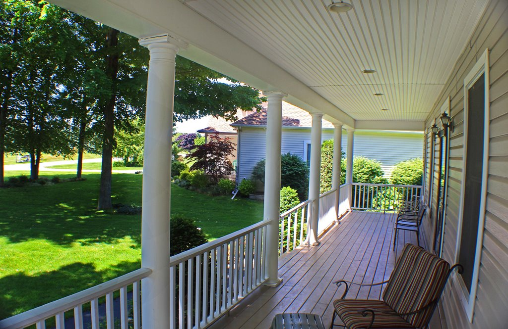 Relaxing on the Porch - A Wonderful Hideaway!