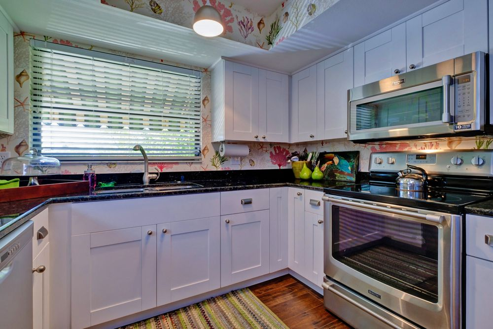 Kitchen with New & Updated Appliances