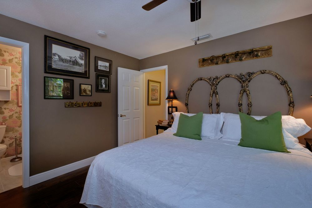 Master Bedroom with King Bed and Ensuite Bath.