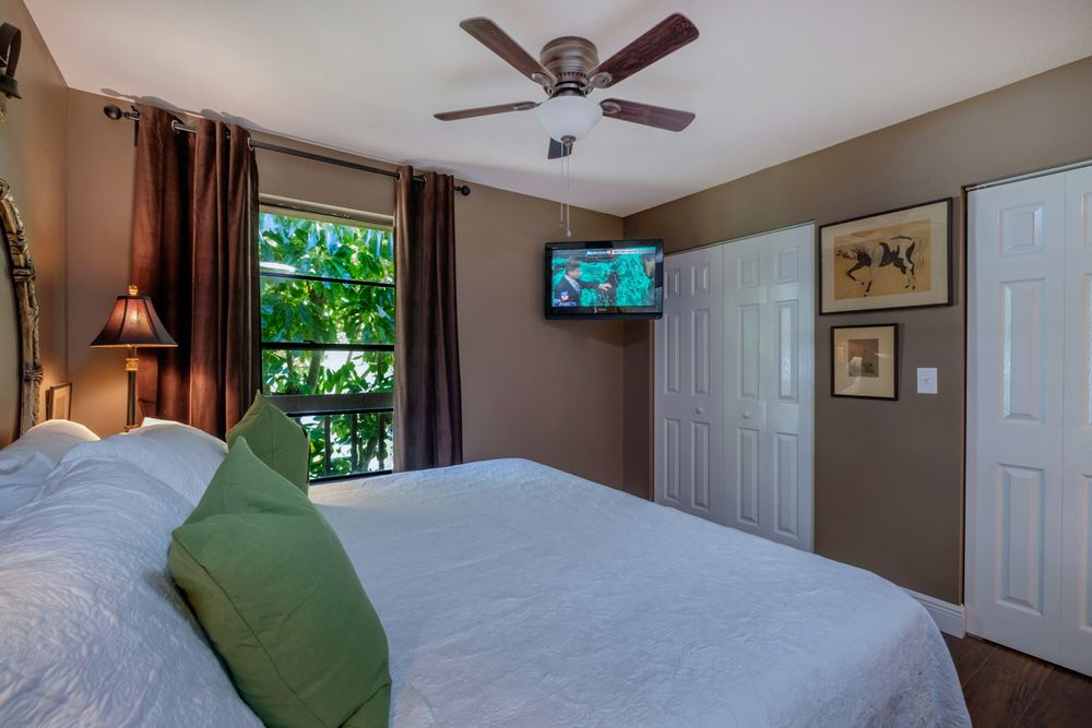 Master Bedroom with Tropical View