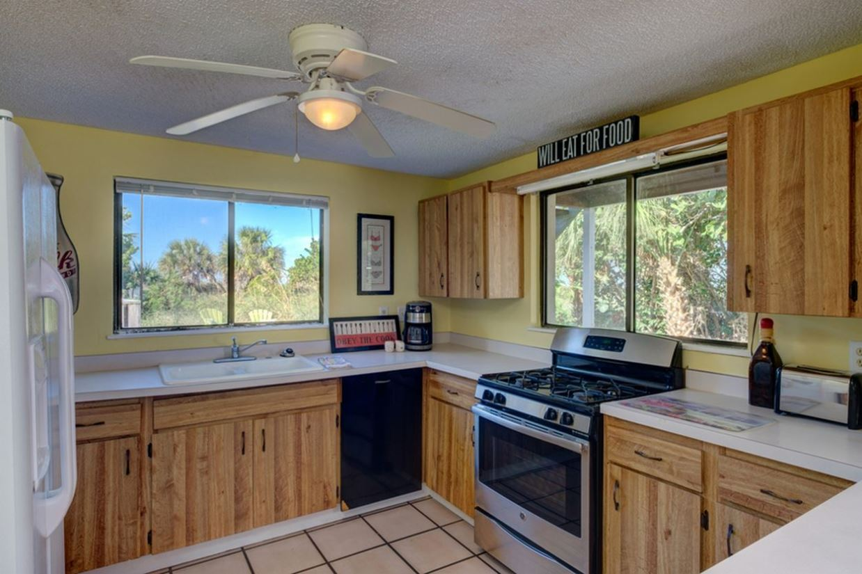 Well-Appointed Kitchen with a View