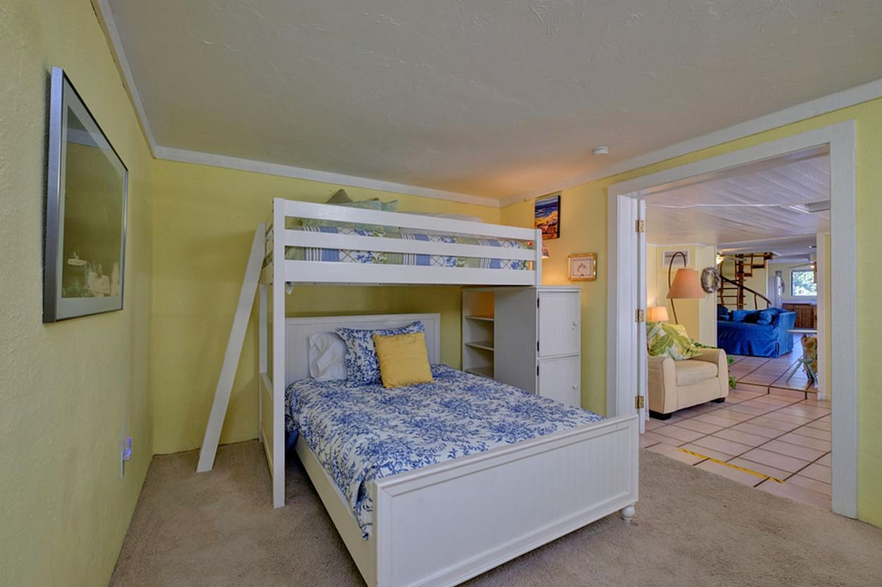 Main Level Bedroom with Bunk Beds