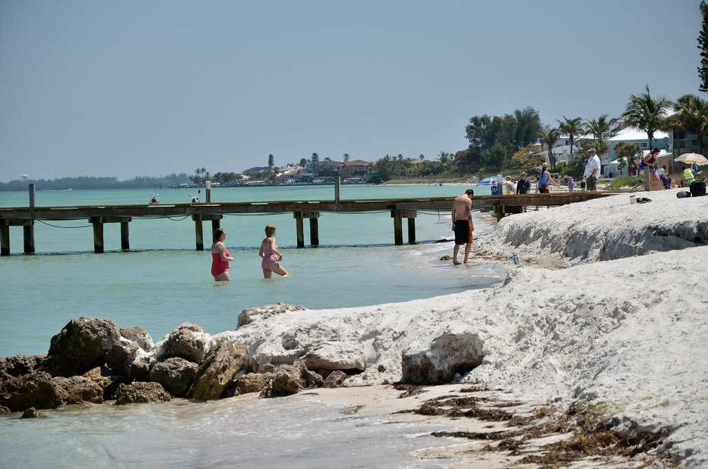 Anna Maria City Pier Beach and Boardwalk