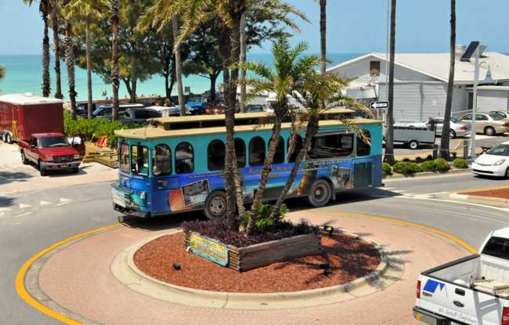 Hop on the Free Trolley for Easy Island Transportation