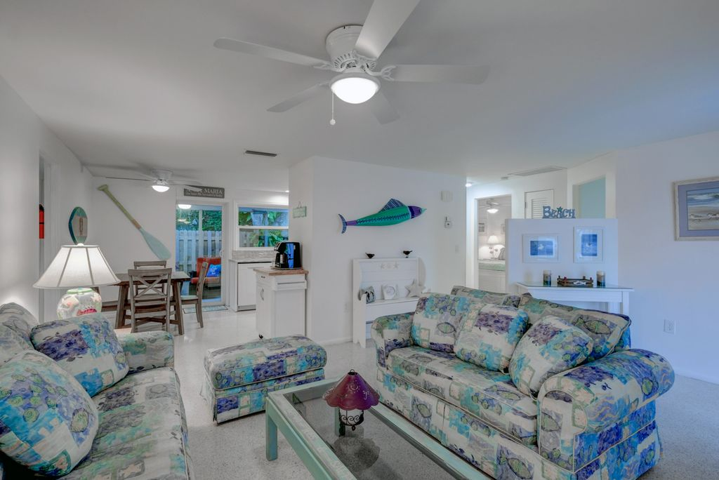 Living Room with Island Vibe