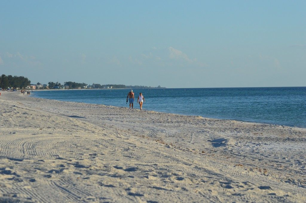 Take Daily Strolls Along the Beaches