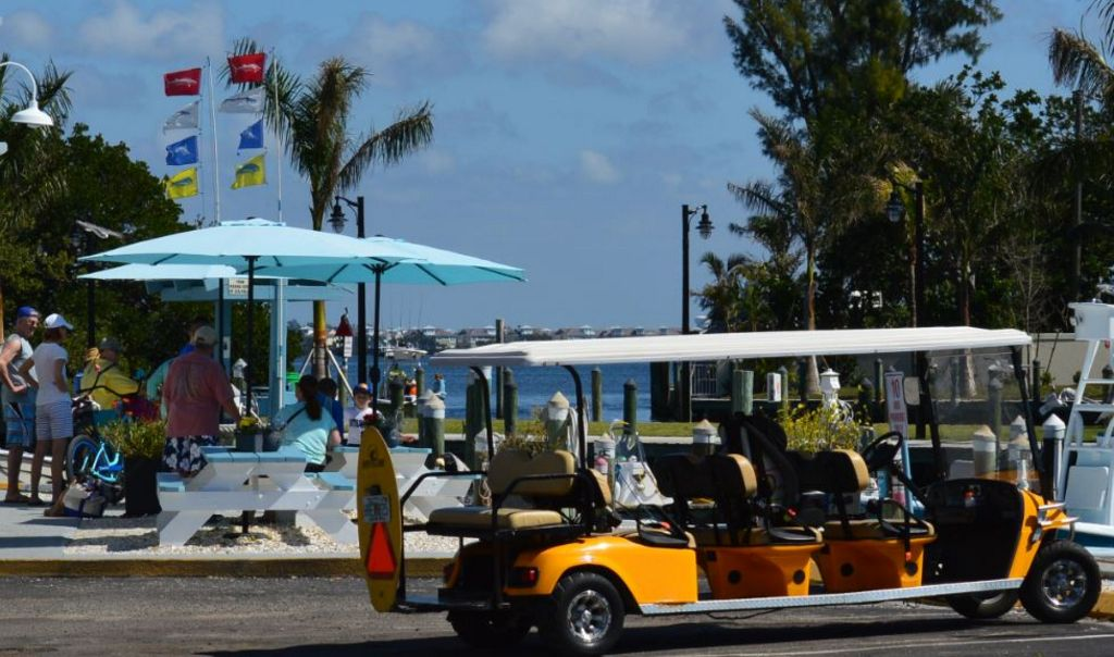 Golf Cart Rentals are Available on the Island